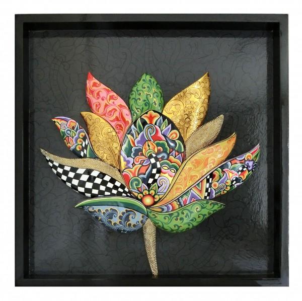 """Reliefbild """"Lotus"""""""