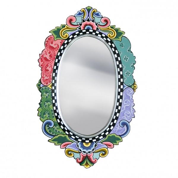 Spiegel Versailles, oval