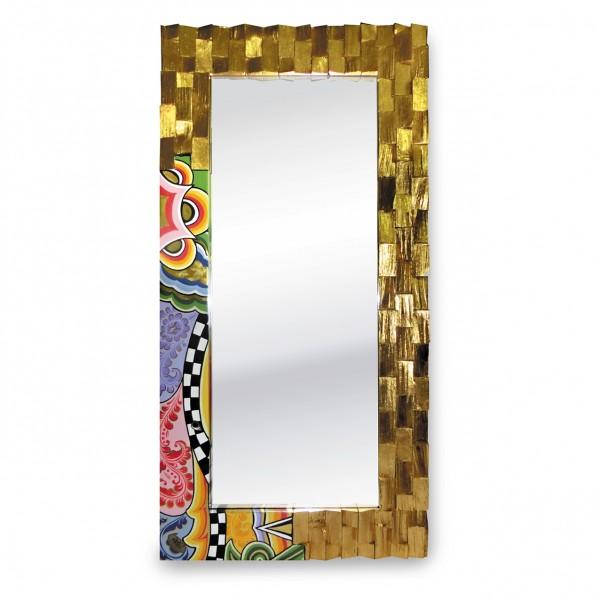 Spiegel, vergoldet L