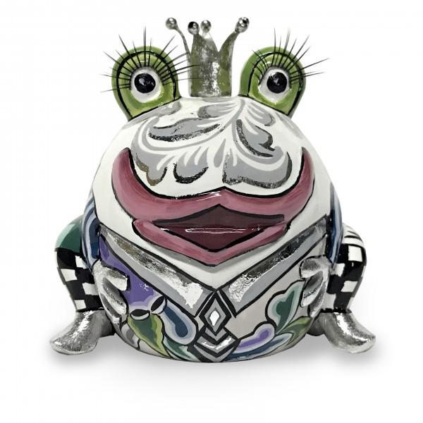 Froschkönig Marvin, weiss