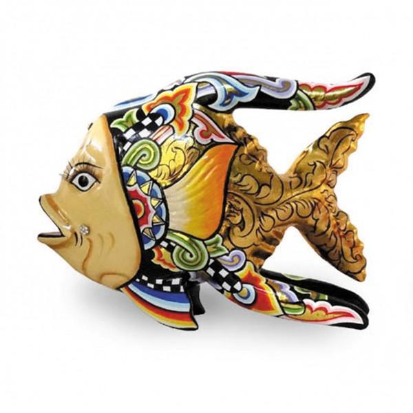 Fisch Oscar, L gold
